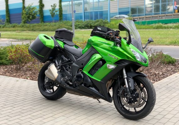 Kawasaki Z1000SX Tourer model 2014